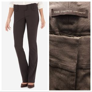 The Limited Exact Stretch Trouser 10R Brown